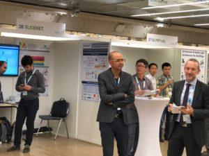 SliceNet booth at EuCNC2018